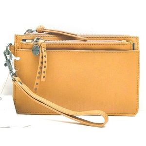 Lucky Brand Rayla Leather Wristlet w Card Case